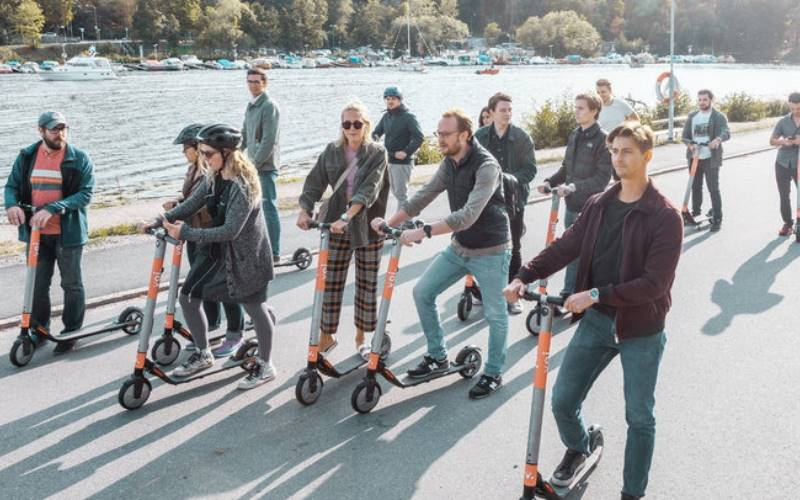 VOI in bid to help change UK's e-scooter rules