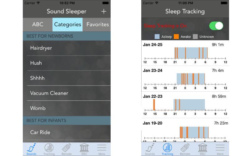 Baby tech focus: The womb noise app
