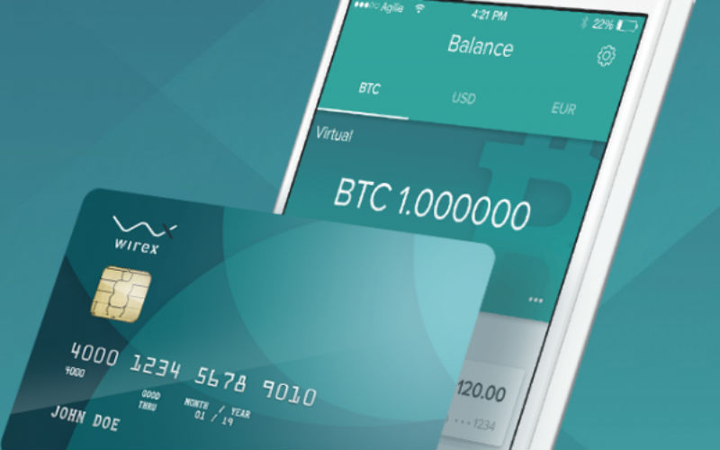 crypto debit card